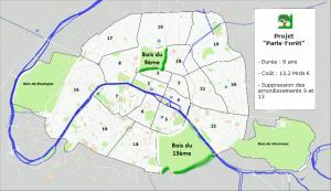 Reboisement de Paris intra-muros : fin des 9ème et 13ème arrondissements