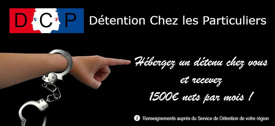 Surpopulation carcérale : 1500€/mois nets si vous hébergez un détenu !