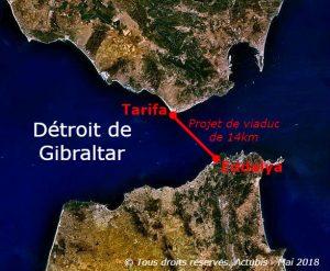 Détroit de Gibraltar : l'Europe et le Maroc s'accordent sur la construction du Viaduc de Gibraltar
