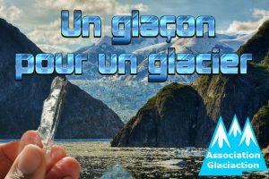 Un glaçon pour un glacier de Galciaction